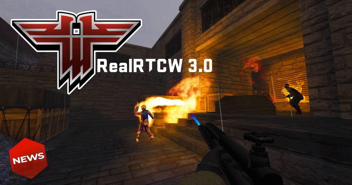 RealRTCW, Return to Castle Wolfenstein, Castle Wolfenstein, Return to Castle Wolfenstein remake, Return to Castle Wolfenstein remastered