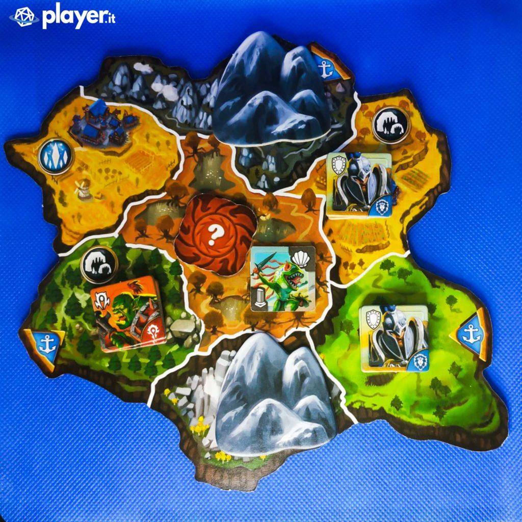 small world of warcraft mappa