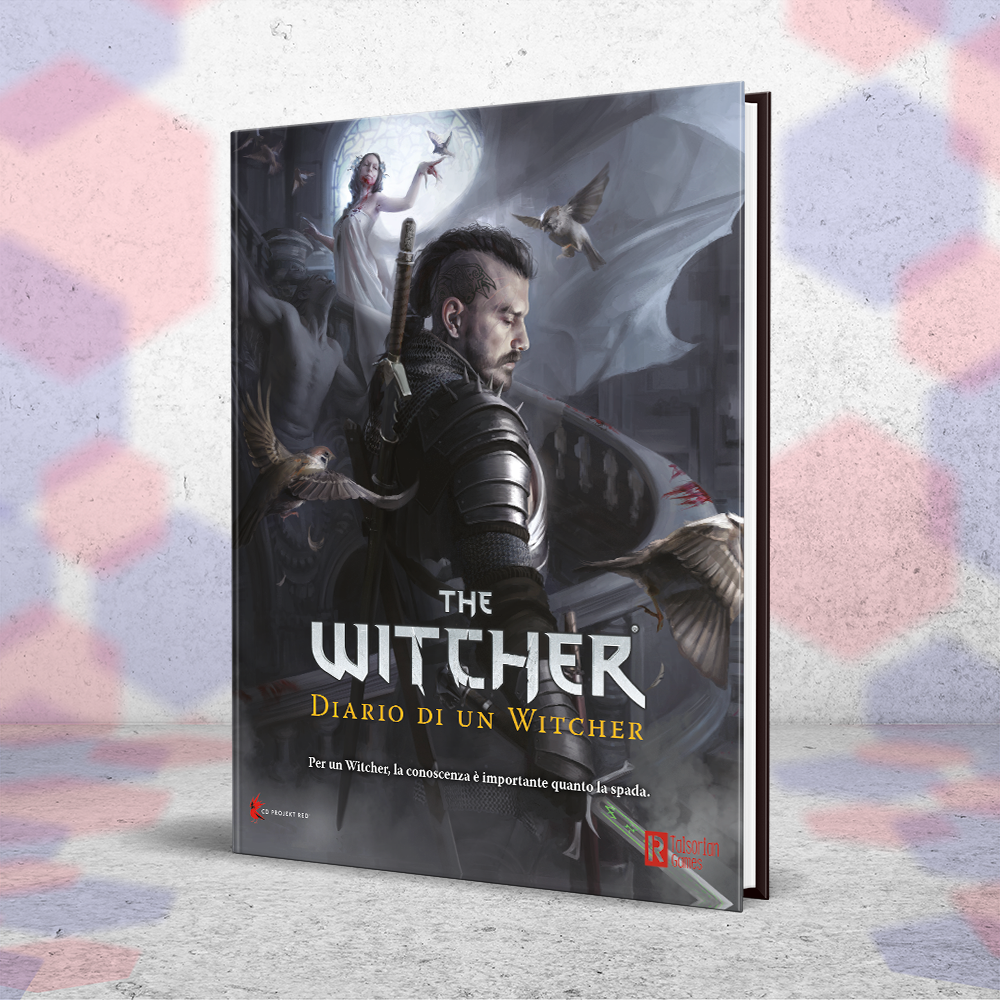 La copertina di The Witcher - Diario di un Witcher.