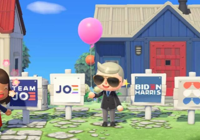 Animal Crossing, Animal Crossing New Horizons, Joe Biden, Kamal Harris, Joe Biden Animal Crossing, Joe Biden in Animal Crossing