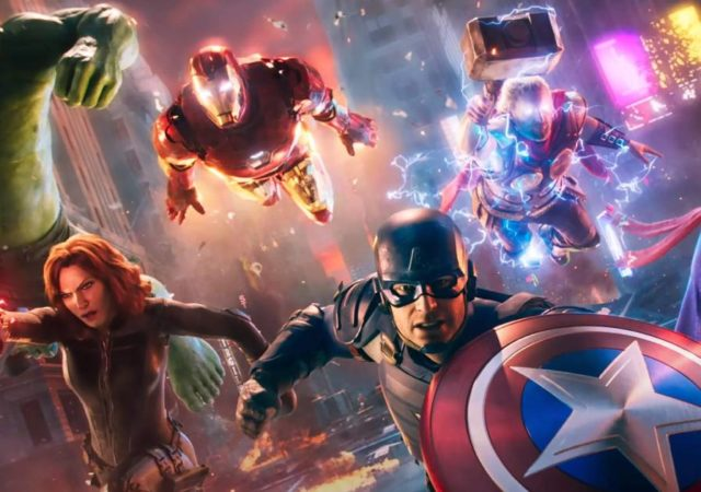 Marvel's Avengers, Crystal Dynamics, Avengers, PS4, PlayStation 4, Marvel's Avengers PlayStation 4, Black Widow