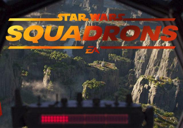 Copertina per cortometraggio Hunted di Star Wars Squadrons