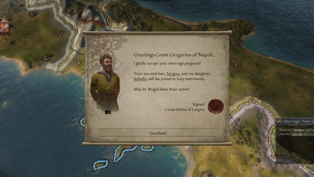 Una proposta di matrimonio incestuosa in Crusader Kings III