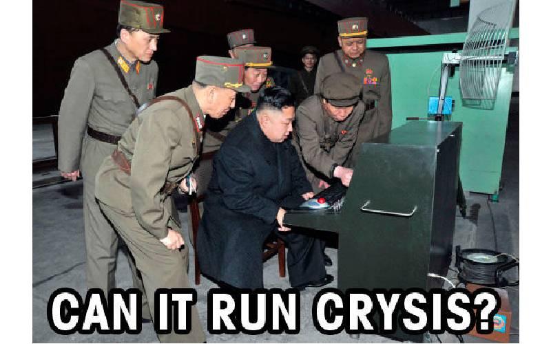 crysis, crysis remastered, crysis remastered grafica, crysis remastered grafica al massimo, ci gira Crysis? kim jong un, Can it run Crysis?