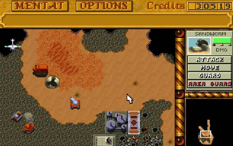 Dune II, Dune, Dune II videogioco, Dune II 1992 videogioco