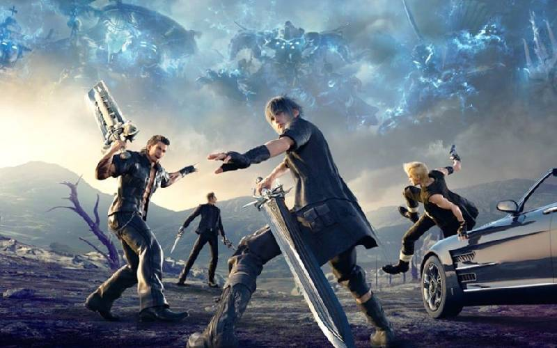 Final Fantasy XV, Final Fantasy XVI, Square Enix, PlayStation 5, Sony