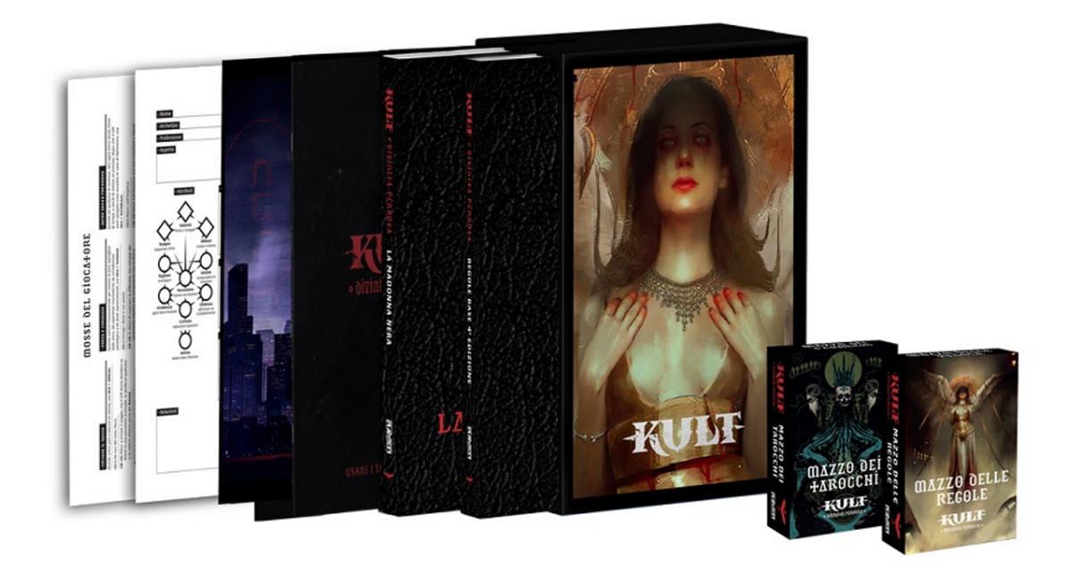 I contenuti dell'edizione esclusiva limitata italiana di Kult: Divinità Perduta