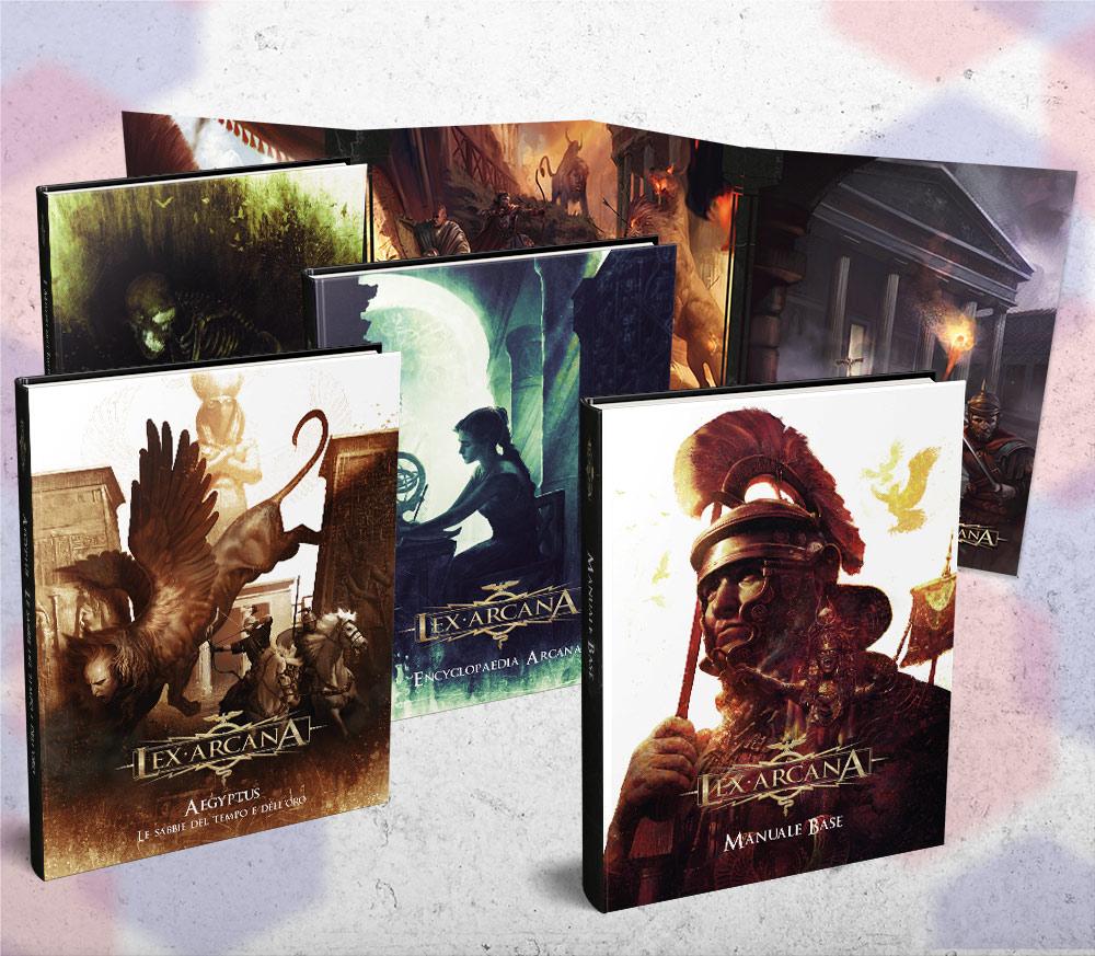 Lex Arcana è uno dei progetti di Mauro Longo, tra l'altro appena pubblicato da Need Games.