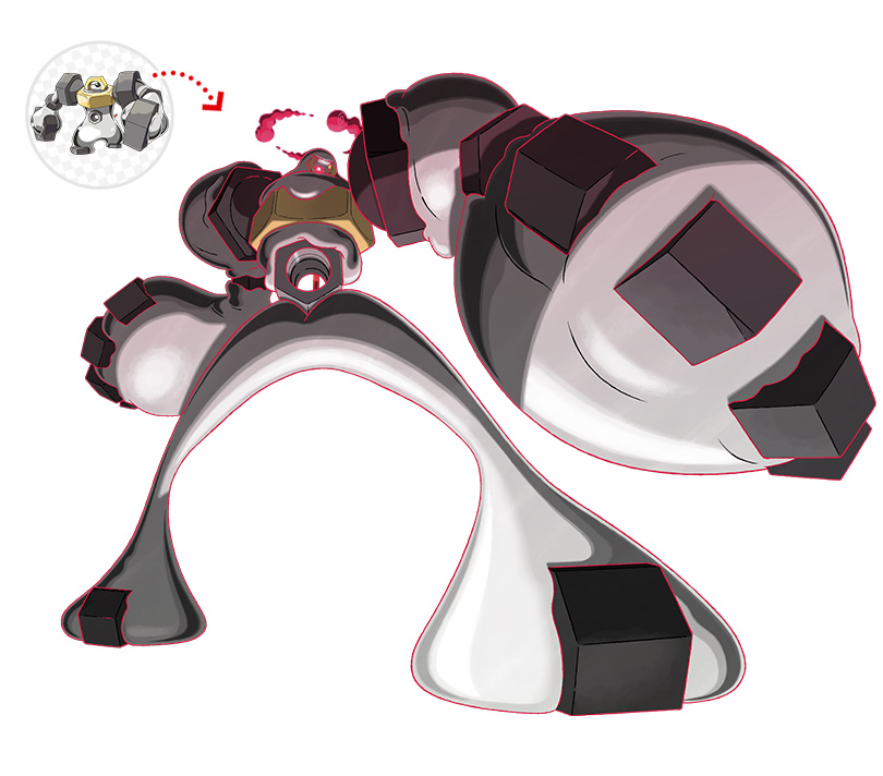 Melmetal Gigamax ottenibile collegando Pokémon GO e Pokémon HOME