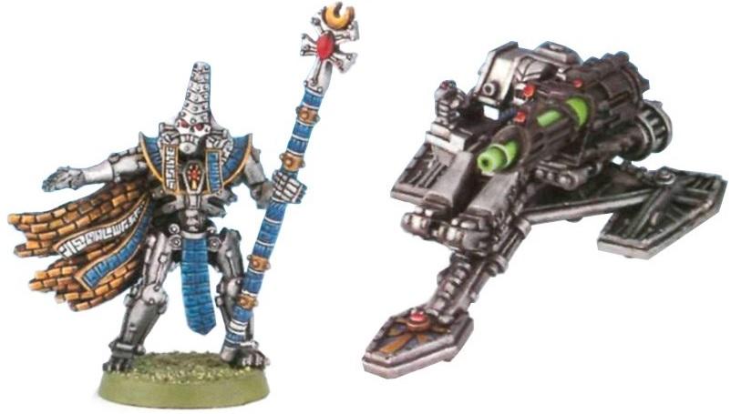 Primi modelli Necron di Lord e Distruttore
