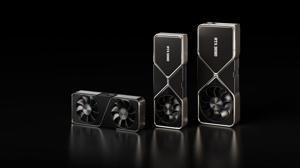 Le nuove schede video Nvidia GeForce RTX della serie 30
