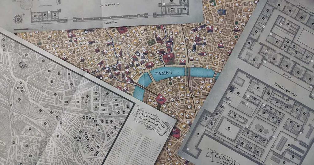 sherlock holmes mappa