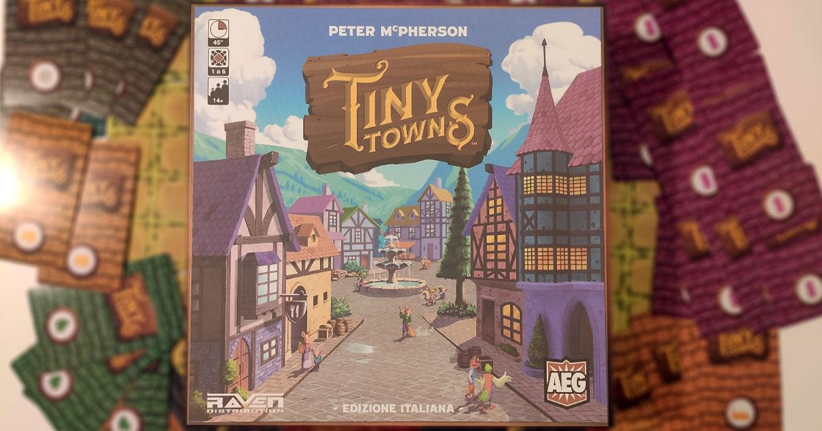 tiny towns copertina