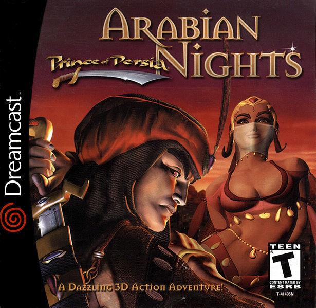 Prince of Persia 3D box art.