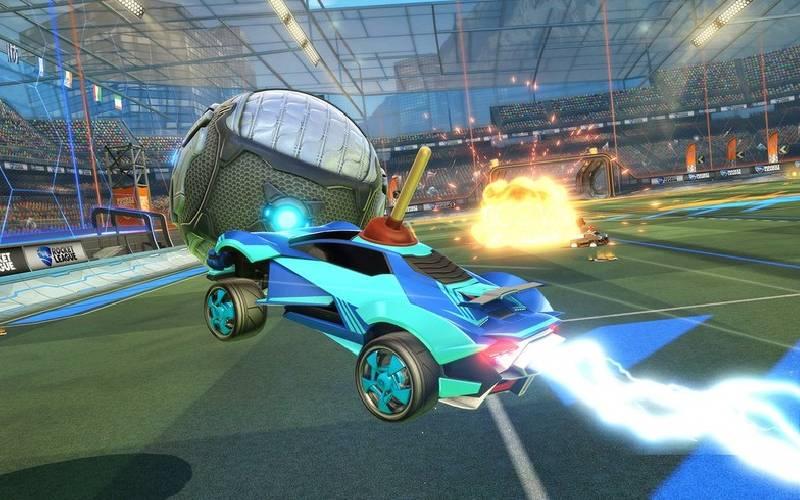 Rocket League, Rocket League free to play, Psyonix, Epic Games Store, Rocket League free to play data uscita