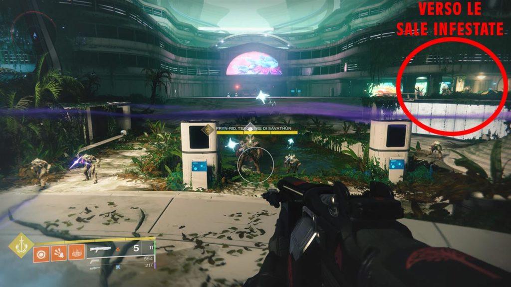 Posizione delle Sale Infestate in Destiny 2