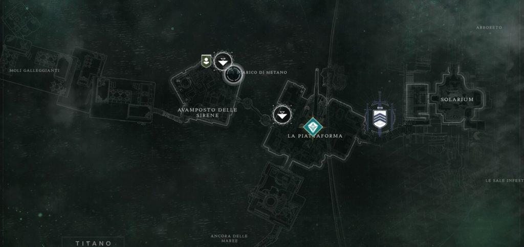 Posizione dello Scarico di Metano in Destiny 2