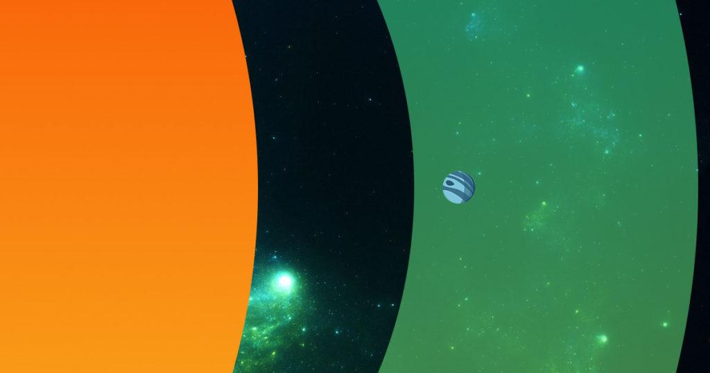 Schema del sistema planetario Necrontyr dopo