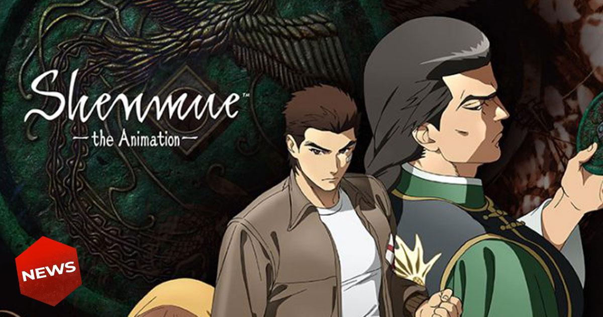 shenmue the animation annunciata la serie anime