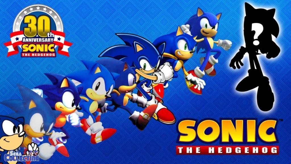 varie versioni di Sonic
