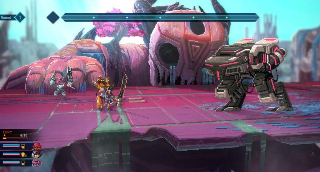 Scenario di combattimento di Star Renegades contro un Behemot