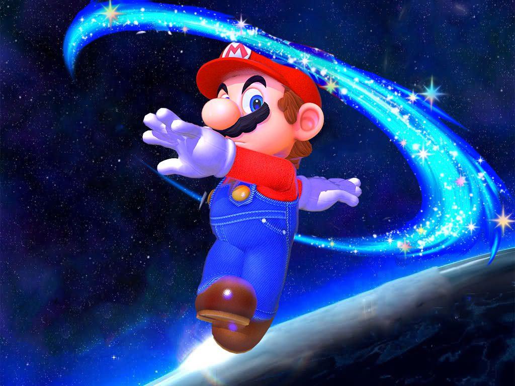 Spin in Super Mario Galaxy