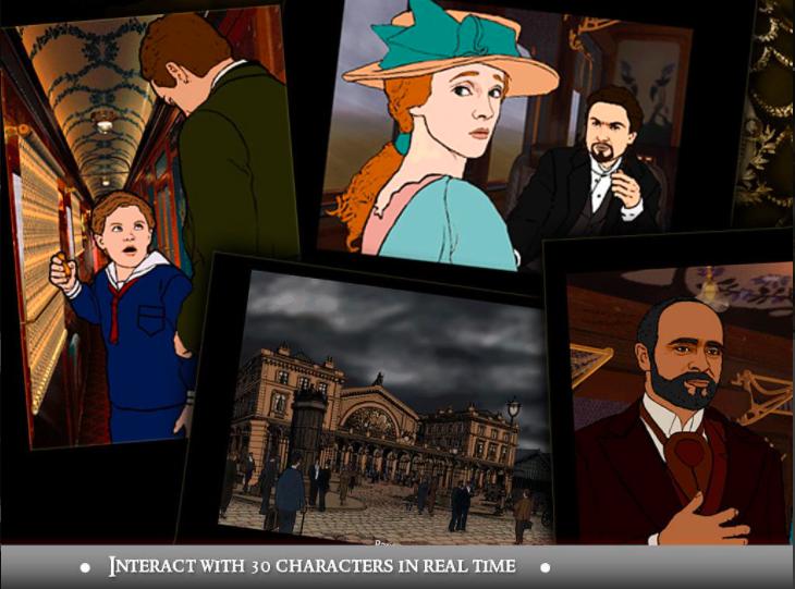 The Last Express, 30 personaggi