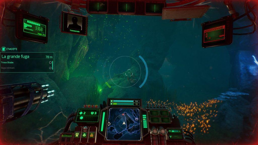 Aquanox Deep Descent gameplay