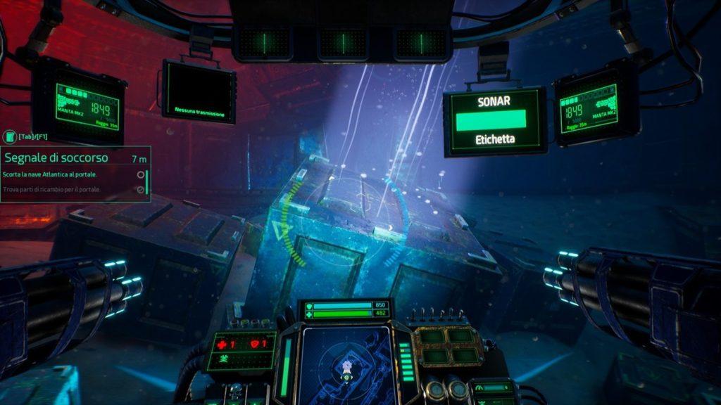 Aquanox Deep Descent cassa