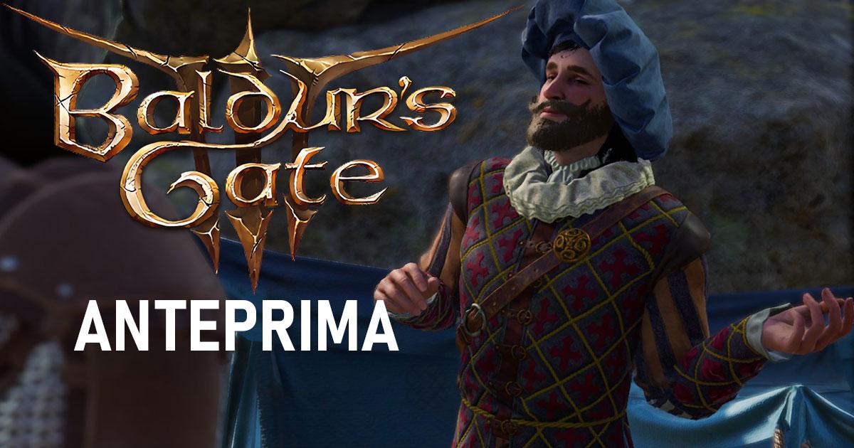 Copertina anteprima Baldur's Gate 3