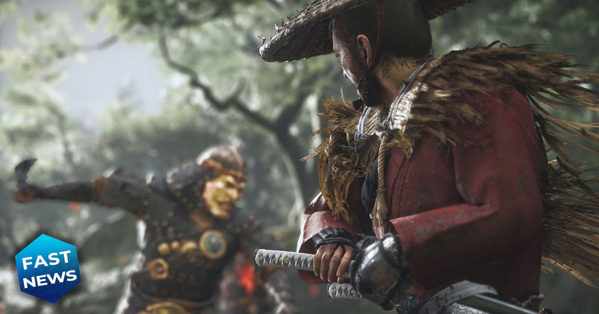ghost of tsushima aggiornamento new game+ cane companion