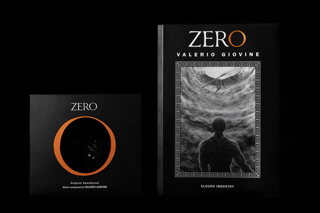 Il romanzo zero e il CD con la colonna sonora di Valerio Giovine