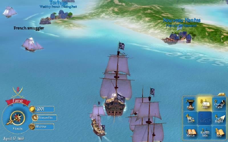 Sid Meier's Pirates!, Firaxis Games, Sid Meier