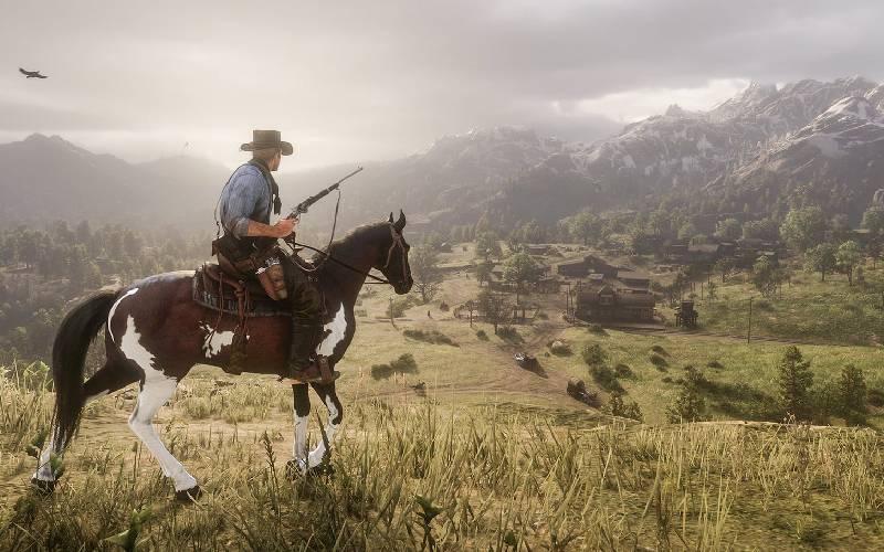 Red Dead Redemption II, Arthur Morgan, Rockstar Games, action, open world, western