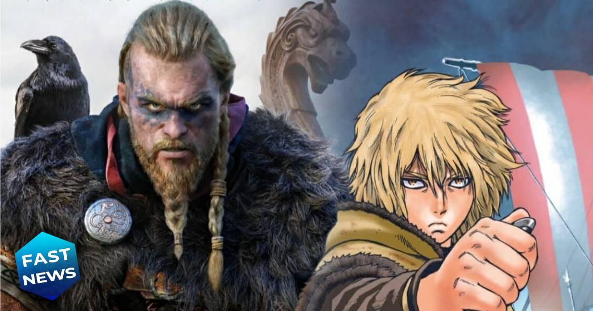 Assassin's Creed Valhalla, Vinland Saga, Assassin's Creed Valhalla Vinland Saga Crossover, manga Vinland Saga, Eivor