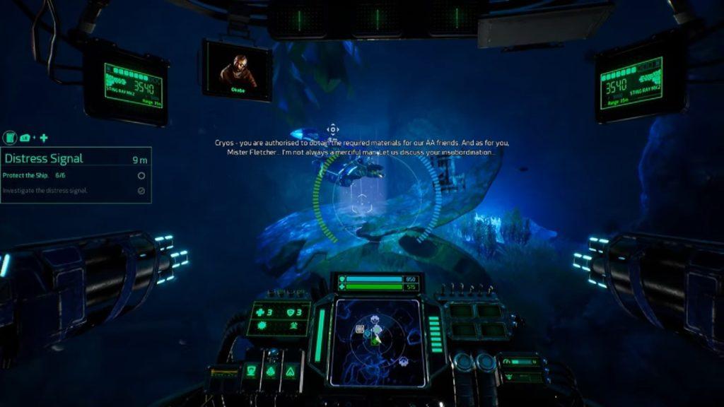 Aquanox Deep Descent storyline