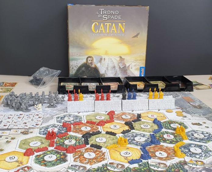 Partita de Il Trono di Spade - Catan appena terminata