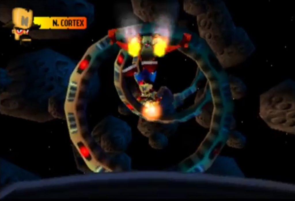 Crash Bandicoot 2 boss fight finale