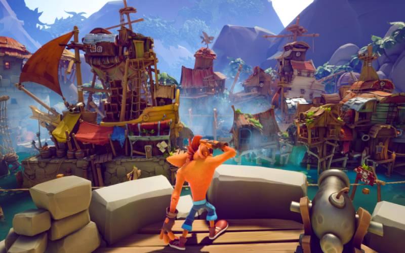 Crash Bandicoot, Toys for Bob, Activision, Crash Bandicoot It's About Time