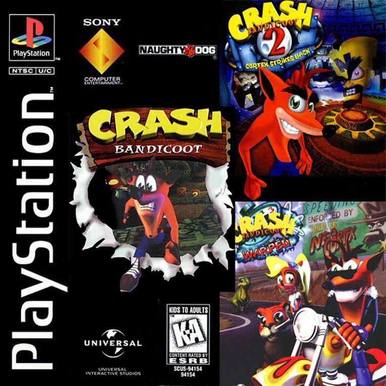 Crash Bandicoot trilogia PlayStation