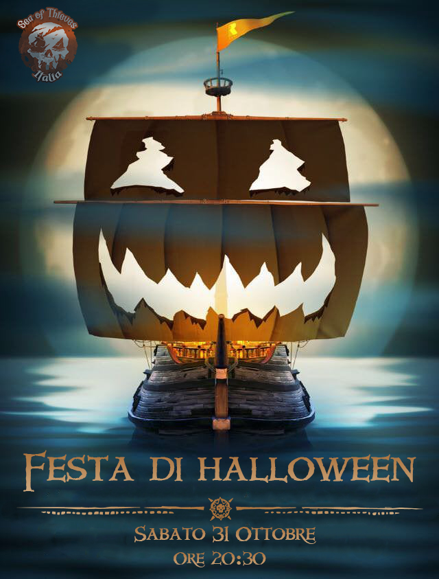 Rare, Sea of thieves, sea of thieves italia, sea of thieves ita halloween party, sea of thieves italia twitch halloween party