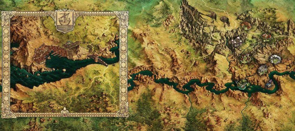 Mappa accesso anticipato Baldur's Gate 3