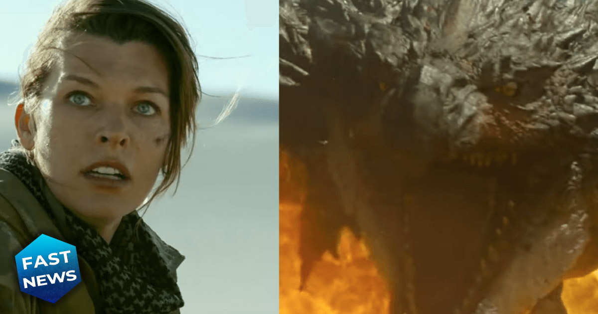 Ecco il trailer del live action di Monster Hunter con Milla Jovovich