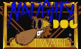 Naughty Dog, vecchio logo.