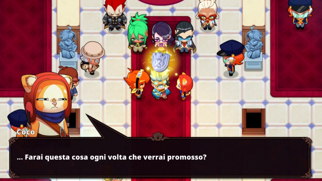 Coco e il suo sarcasmo che rompe la quarta parete di Nexomon: Extinction