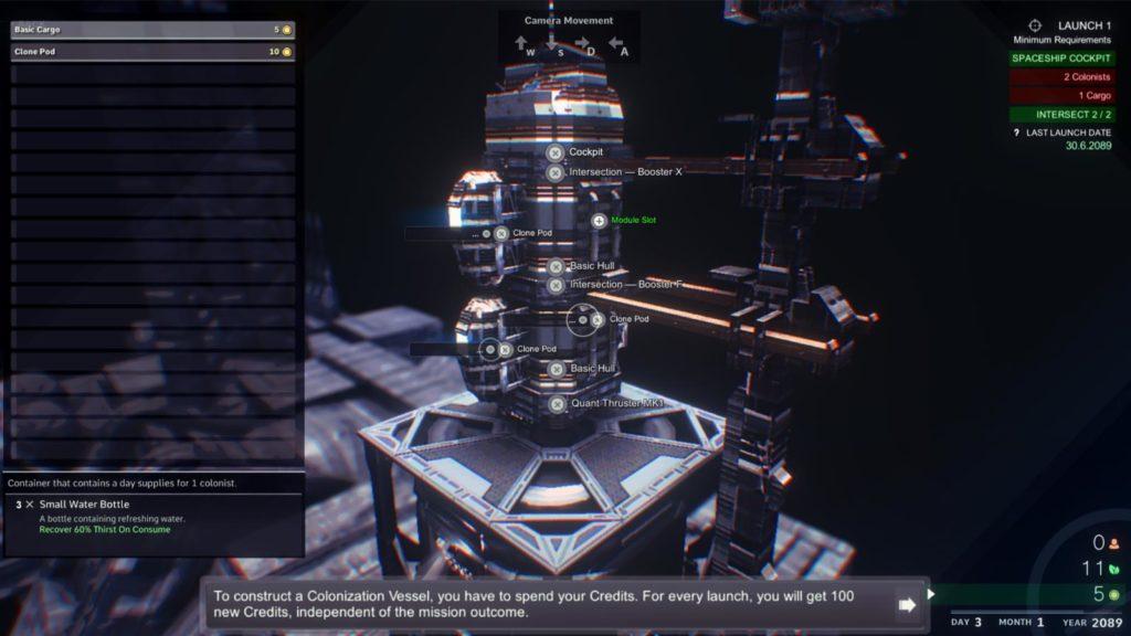 Costruzione della nave spaziale di Ragnorium.