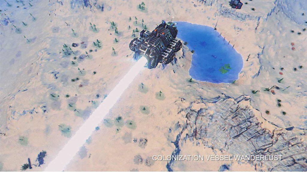 Scelta del luogo di atterraggio in Ragnorium.