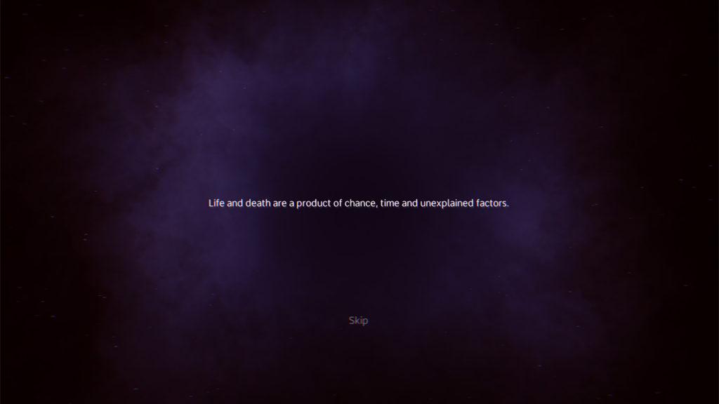Vita e morte sono un prodotto del caso, del tempo e di fattori inspiegabili. Introduzione a Ragnorium.
