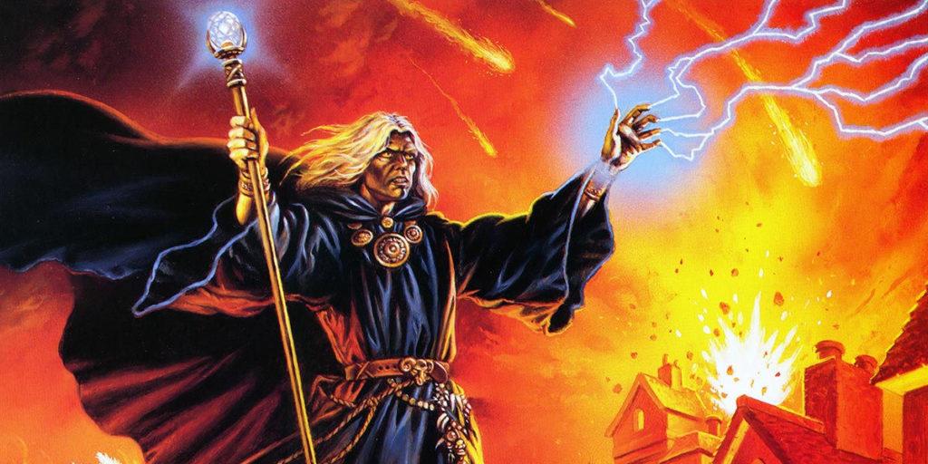 L'arcimago Raistlin Majere, uno dei più amati e iconici personaggi di Dragonlance.