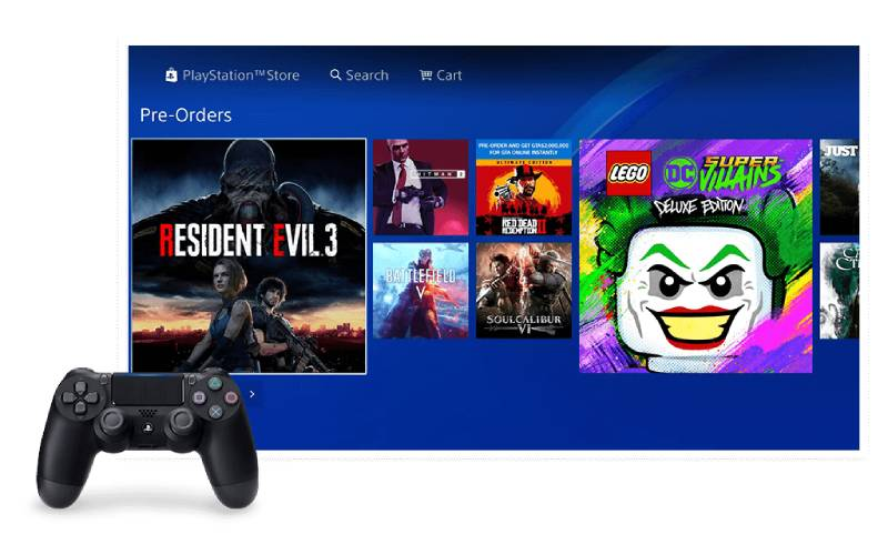 Sony computer entertainment, PlayStation 4, PlayStation Store